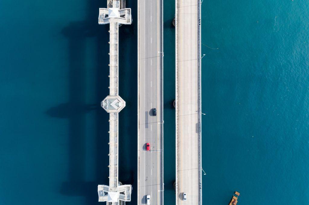 podwodna inspekcja mostów